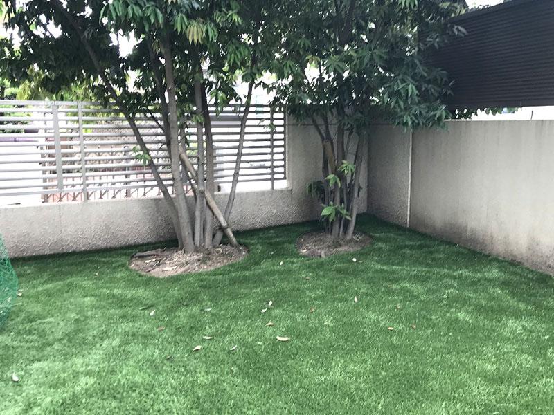 京都府向日市H様邸 お庭の人工芝施工