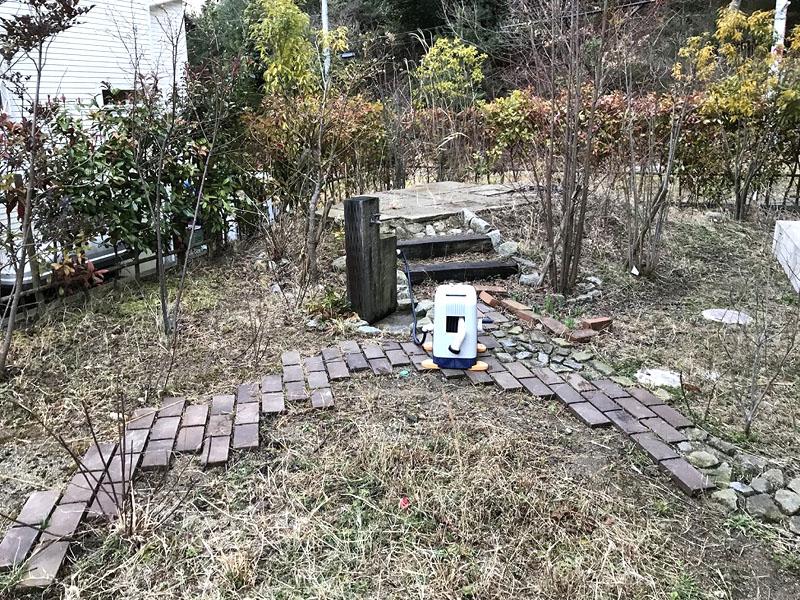 大阪府箕面市N様邸 お庭の人工芝施工