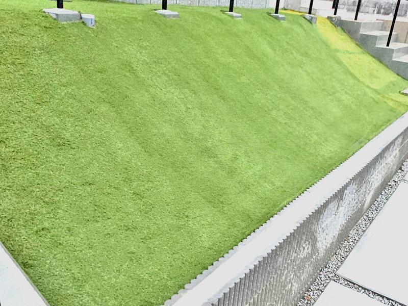 奈良県奈良市O様邸 お庭と方面の人工芝施工