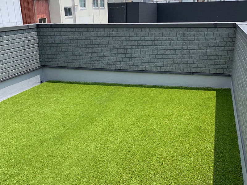 大阪府大阪市O様邸 ガーデンテラスに人工芝施工しました