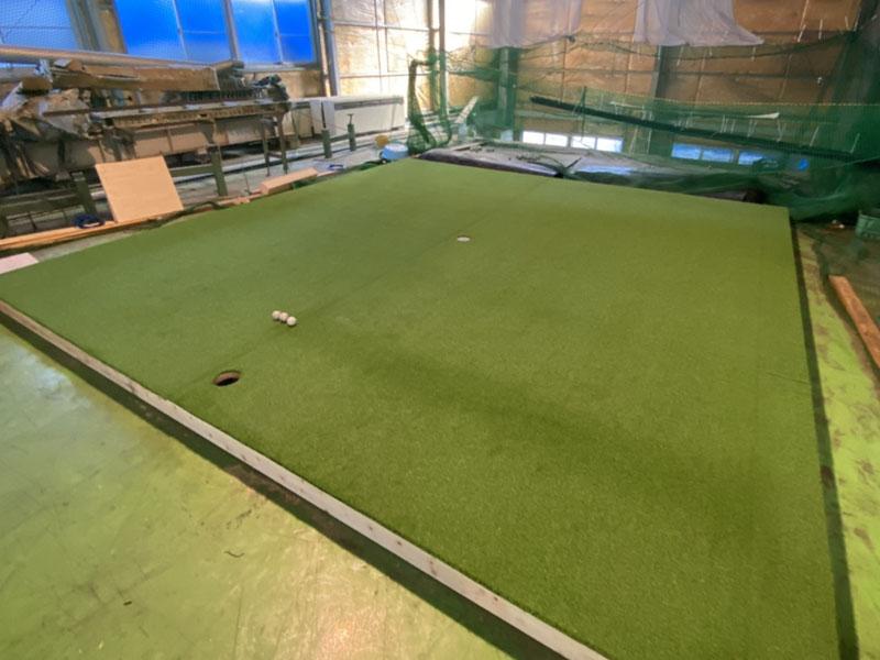 兵庫県神戸市法人様 ゴルフ人工芝でリフレッシュ