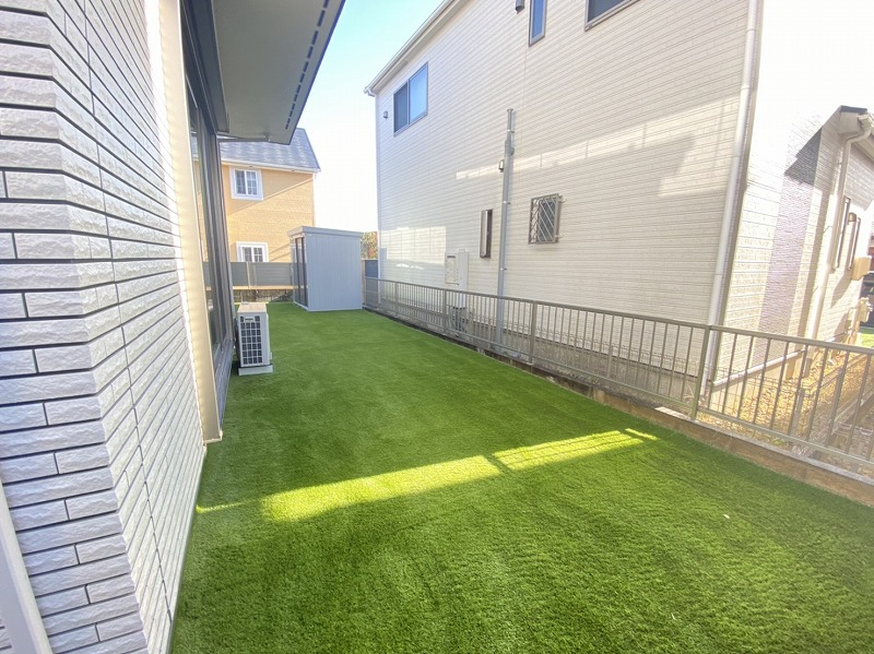 三重県四日市市M様邸 お庭の人工芝施工