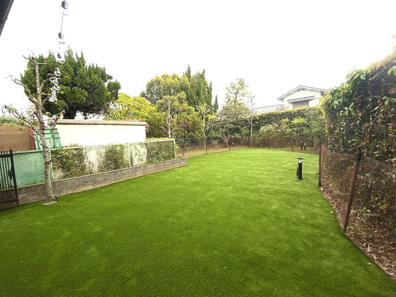 兵庫県西宮市N様邸 お庭の人工芝施工