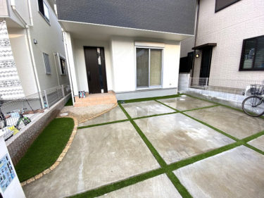 大阪府堺市 T様 周辺と駐車場